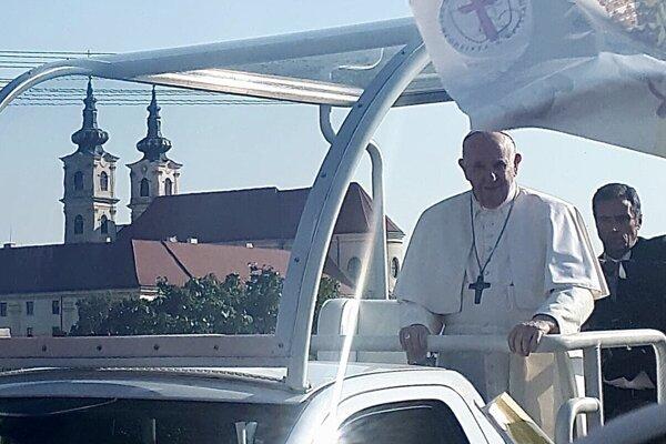 Kysučania sa dostali aj do blízkosti pápeža.