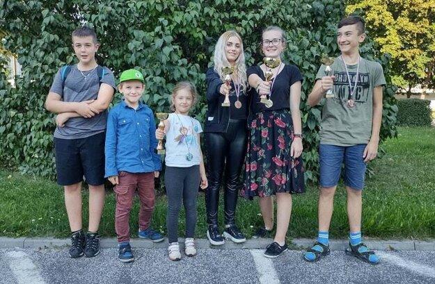 Tím Kysučanov na Majstrovstvách Slovenska v Rapid šachu