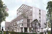 Vizualizácia projektu, ktorý má nahradiť hotel Avion.