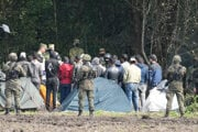 Za počtom migrantov na hraniciach je Bieloruský režim.