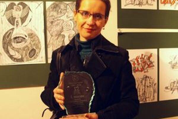 Elena Tarábková si odniesla prvú cenu za projekt pre hendikepované deti.