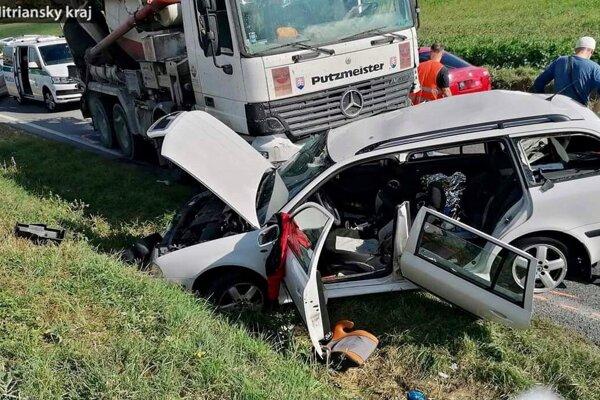 Nehoda pri Urminciach.