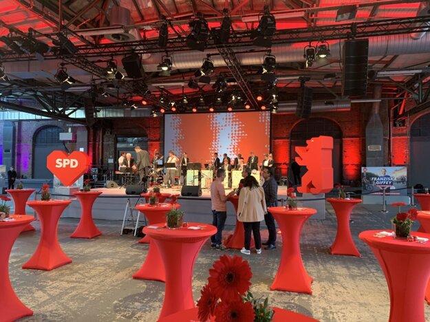 SPD sa pripravuje na volebnú noc.