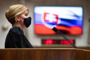 Prezidentka Zuzana Čaputová vystúpila so správou o stave republiky.