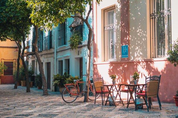 Atmosféra uličiek juhu Španielska