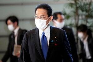 Japonský premiér Fumio Kišida.