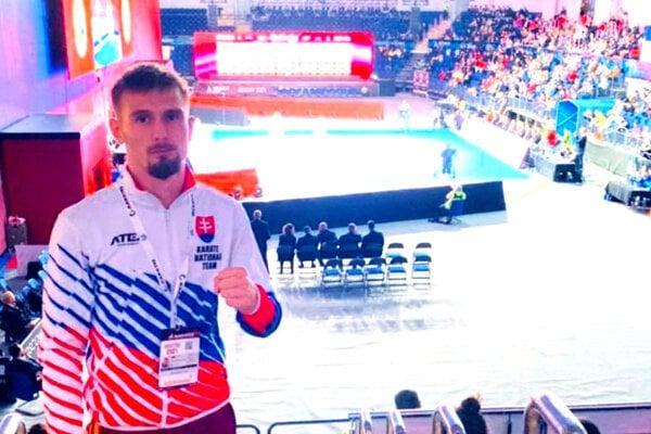 David Podsklan súťažil na SP v Moskve.