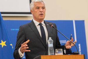 Minister zahraničných vecí Ivan Korčok.