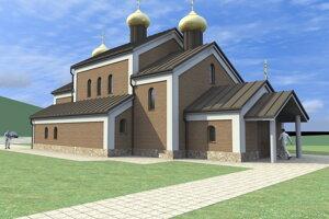 Nová vizualizáciu chrámu po zmenšení.