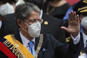 ekvádorský prezident Guillermo Lasso.