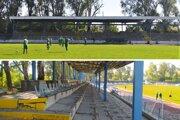 Po dlhých rokoch prerábajú krytú tribúnu na štadióne na Sihoti.