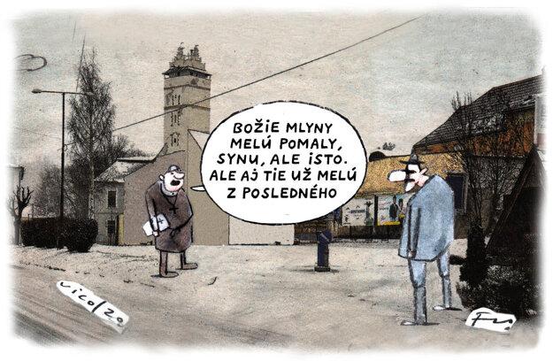 Karikatúra - 13.10.2021