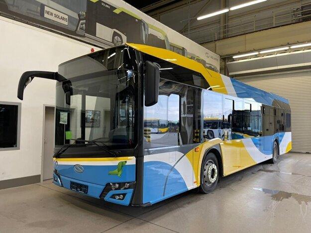 Nový košický autobus Solaris Urbino 12.