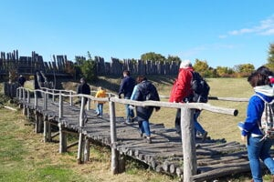 Poslednou Cestou do praveku sa účastníci rozlúčili s mimoriadnymi jazdami historickým vlakom do Nižnej Myšle.