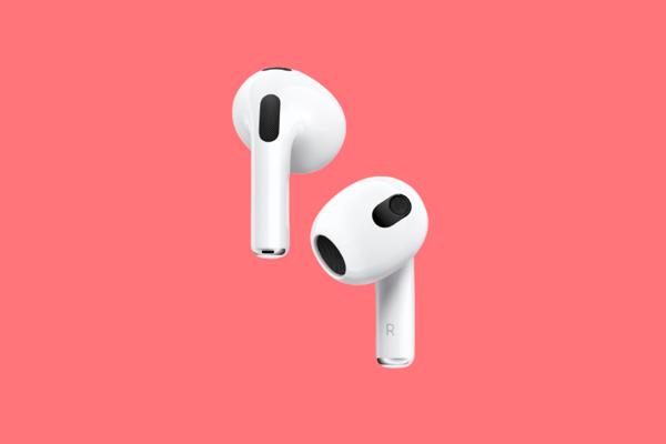 Nové redizajnované Apple slúchadlá AirPods.