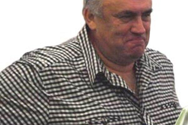 Jozef Slíž, futbalový prezident na Čermáni.