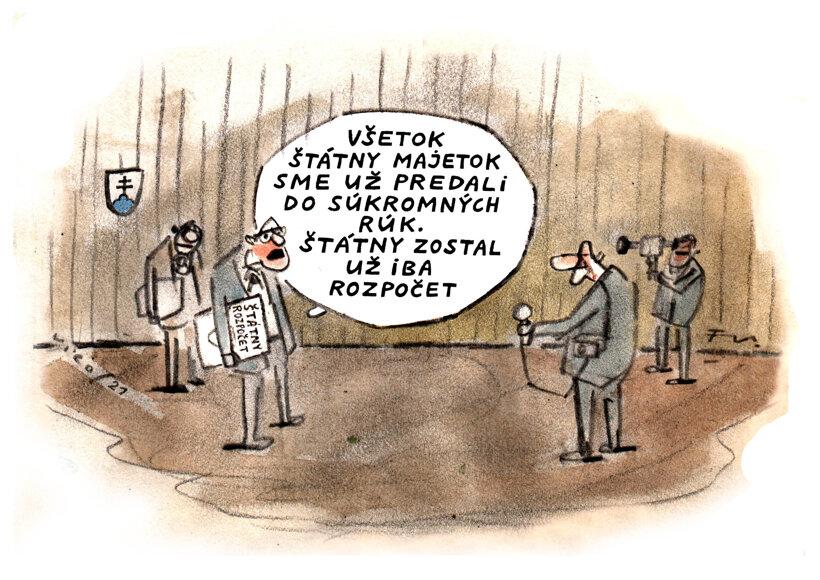 Keď štátny, tak rozpočet (Vico) 21. októbra