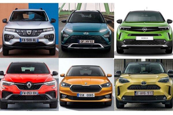 Šesť nových áut, ktoré sú podľa Autobestu najlepšou kúpou