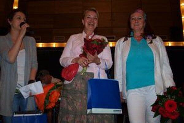 Víťazkou ankety o najpopulárnejšiu herečku sezóny v DAB sa stala (zľava) Kristína Turjanová, druhá bola Eva Pavlíková a tretia Gabriela Dolná.