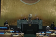 Frankie na pôde OSN