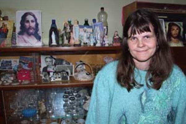 Mária Nosalová bude vďačná za každú pomoc. Veľa nepotrebuje, len so svojimi trápeniami nejako prežiť.
