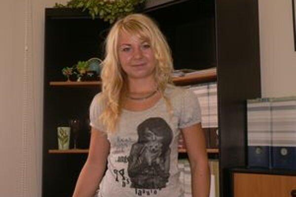 Miriama Michalková - terénna pracovníčka.