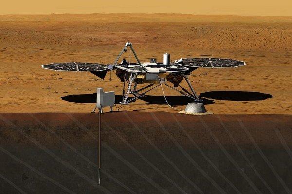 InSight lander.