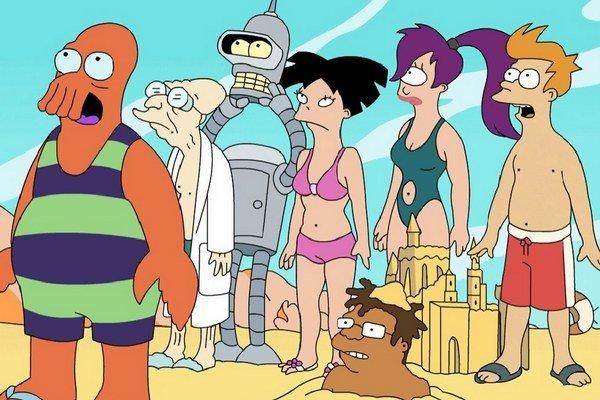 """""""Simpsonovci sú o deťoch a zosobášených rodičoch. Futurama je o ľuďoch medzi tým. Už vyrástli, ale ešte sa neusadili. Cez postavu Frya sme chceli opísať strasti a trápenia mladých,"""" hovorí Groening."""