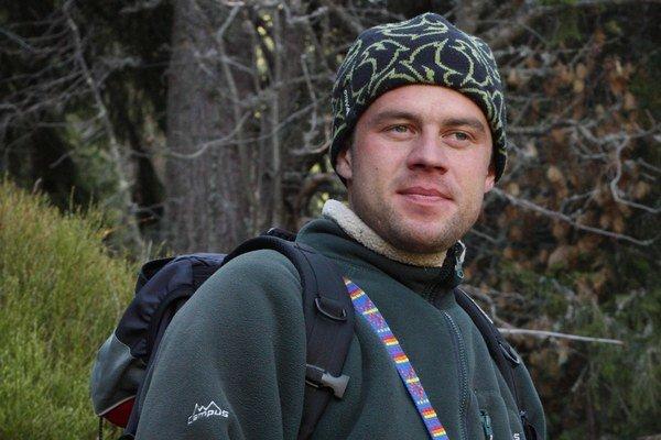 Ochranár a filmár Erik Baláž (36).