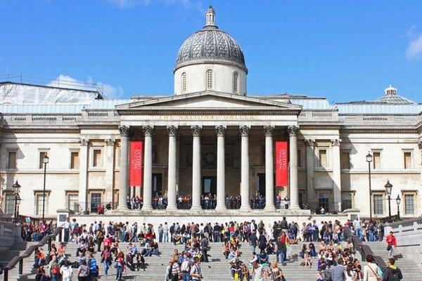 Národná galéria v Londýne.