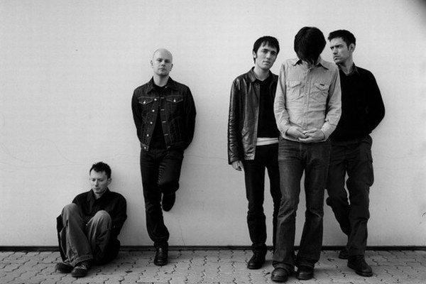 Radiohead v ére albumu OK Computer.