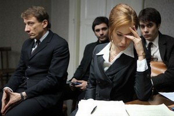 Postavu právničky, ktorá sa rozhodne obhajovať rodinu Jana Palacha zahrala Tatiana Pauhofová.