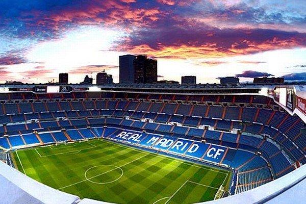 Estadio Santiago Bernabéu - domov madridského Realu.