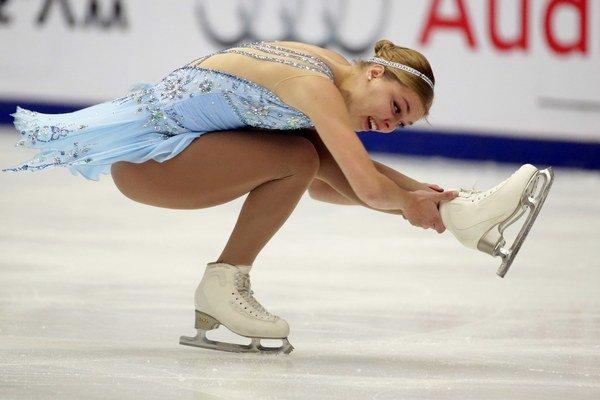 Nicole Rajičová je veľkým talentom slovenského krasokorčuľovania.