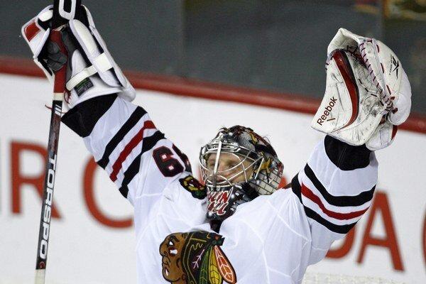 Naposledy si Nikolaj Chabibulin obliekal v NHL dres Chicaga Blackhawks.
