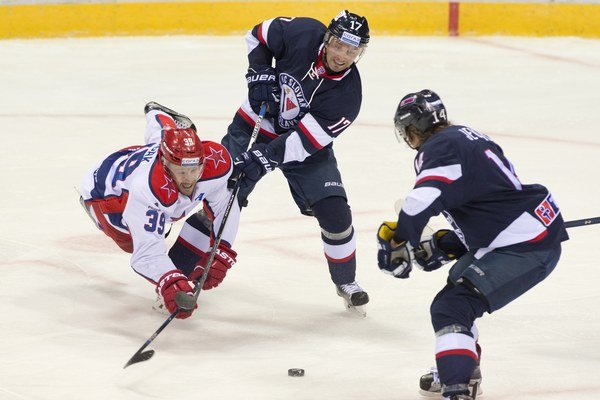 Hokejisti Slovana Bratislava zdolali CSKA Moskva dvakrát v priebehu niekoľkých dní.