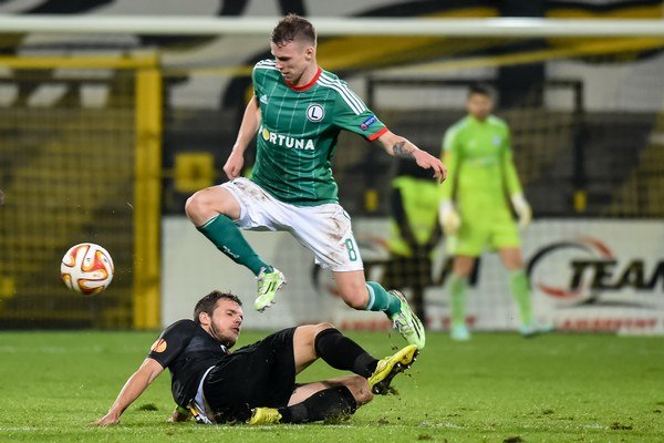 Ondrej Duda rozhodol o postupe Legie Varšava do skupinovej fázy Európskej ligy.
