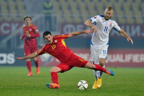 Adam Nemec (vpravo) vždy podával v národnom tíme spoľahlivé výkony.