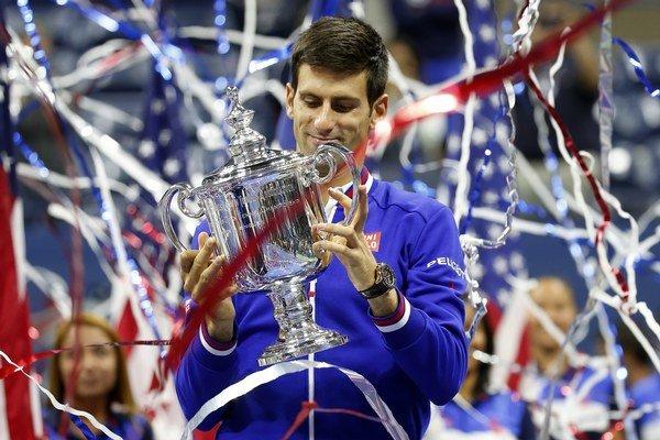 Djokovič pridal k výhram z Australian Open a Wimbledon aj titul z US Open.