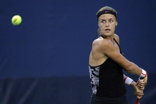 Anna Karolína Schmiedlová pokračuje vo veľmi spoľahlivých výkonoch z posledných týždňov.