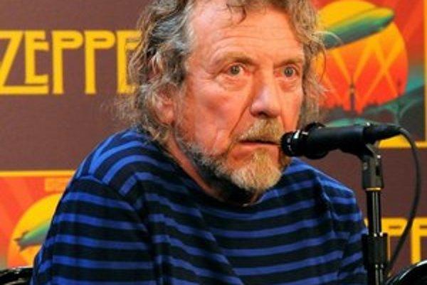 Robert Plant na tlačovej konferencii k vydaniu koncertného filmu Celebration Day.
