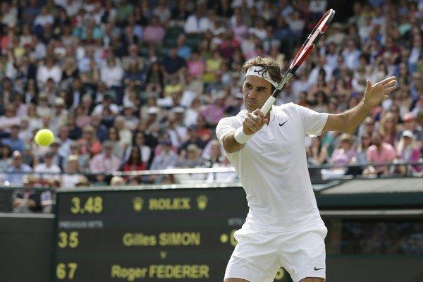 Roger Federer si dlhé roky udržiava stabilne vysokú výkonnosť.