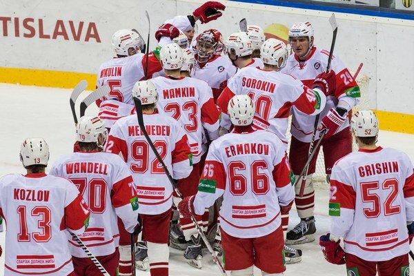 Hokejisti Spartaka Moskva sa po roku vrátia do KHL.