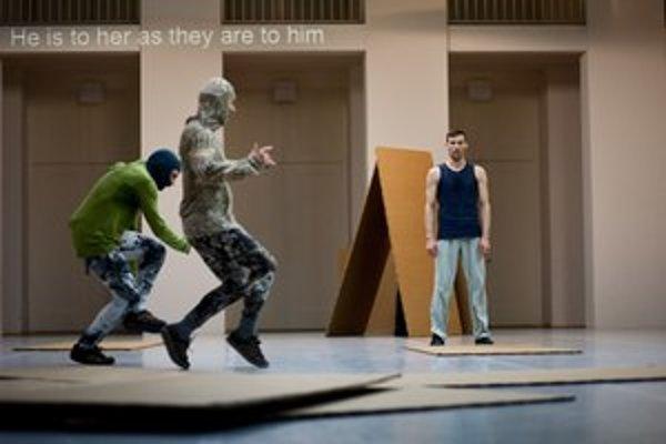 Baletné predstavenie Sider.
