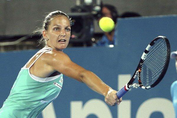 Karolína Plíšková sa vďaka finálovej účasti v Stanforde posunie do prvej desiatky rebríčka WTA.