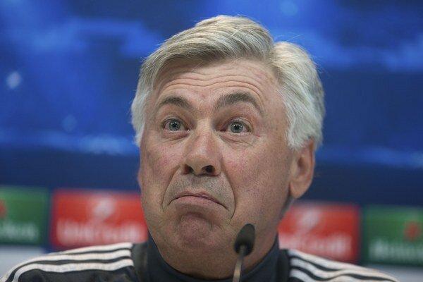 Carlo Ancelotti nezískal v tejto sezóne s Realom Madrid ani jednu trofej.