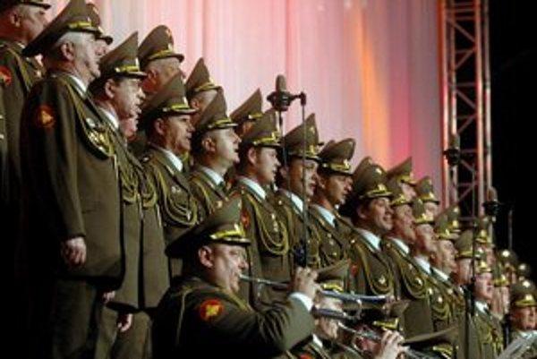 Vystúpenie Alexandrovcov v Jihlave v roku 2010.