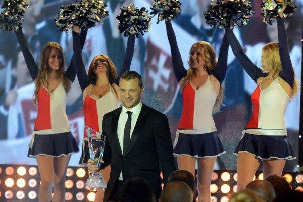 Vlani sa stal Hokejistom roka Marián Gáborík.