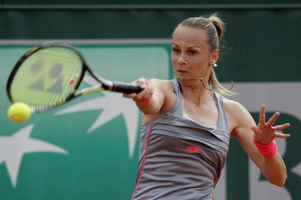 Magdaléna Rybáriková nastúpi proti Talianke Karin Knappovej.