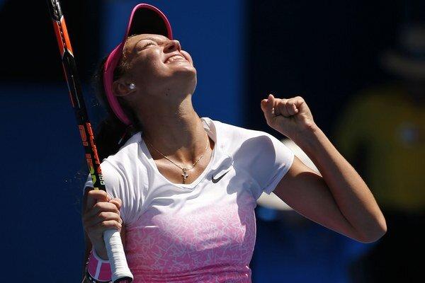 Tereza Mihalíková je juniorskou šampiónkou z tohtoročného Australian Open.